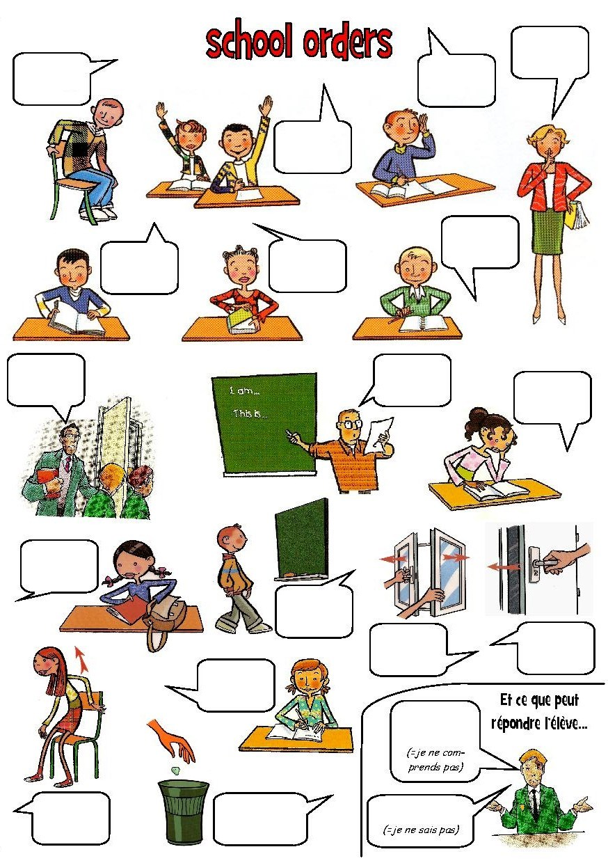 classroom english Classroom language interactive and downloadable worksheet you can do the exercises online or download the worksheet as pdf.